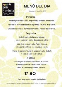 plantilla menú sabado 050414